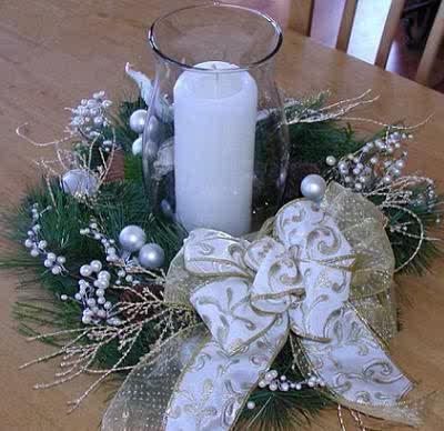 Centros de mesa navide os el rinc n de sonia - Centros de mesa navidenos caseros ...
