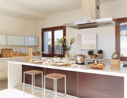 Cocinas con isla central:claves   el rincón de sonia