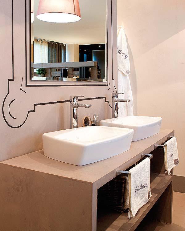 Parejas de lavabos en el ba o el rinc n de sonia - Lavabos de obra ...