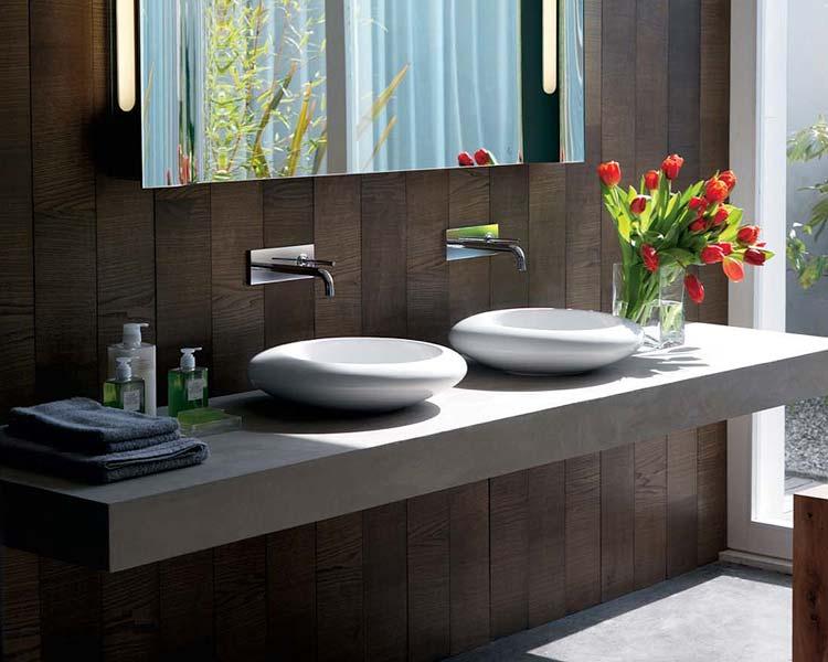 Muebles De Baño Dos Senos:Parejas de lavabos en el baño – El Rincón de Sonia