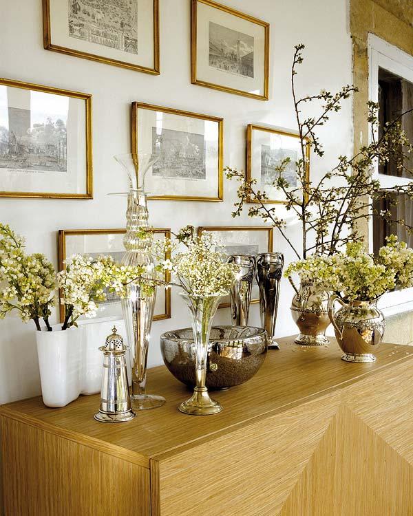 Arreglos florales para casa naturalismo flores distintos - Adornos florales para casa ...