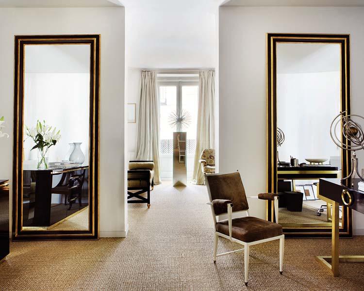 Ideas que agrandan espacios el rinc n de sonia - Espejos grandes de pared ...