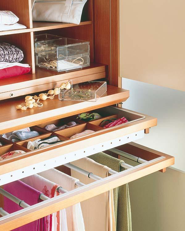 Distribuir el interior de los armarios el rinc n de sonia - Modulos interior armario ...