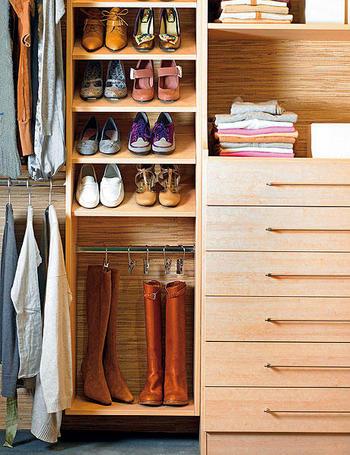 Distribuir el interior de los armarios - El Rincón de Sonia