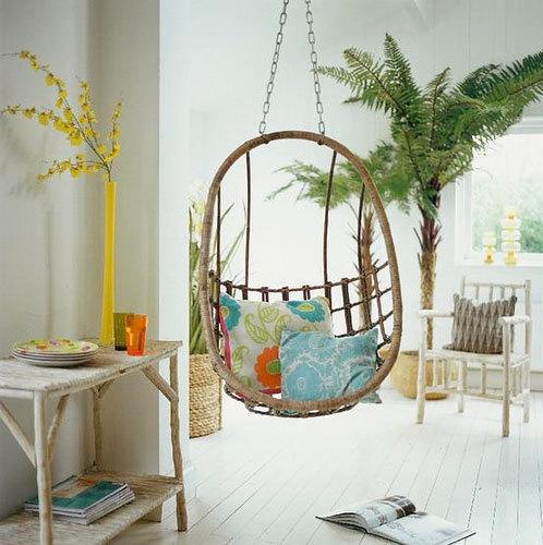 Columpios de dise o relax y confort el rinc n de sonia - Columpios ninos para jardin ...
