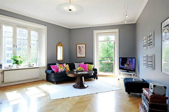 Gama de grises para tus paredes el rinc n de sonia - Combinar color gris en paredes ...