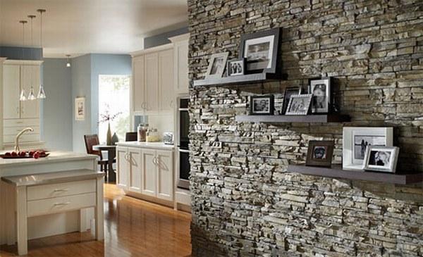 Paredes De Piedra Para Interiores El Rincon De Sonia - Decoracion-con-piedras-en-interiores