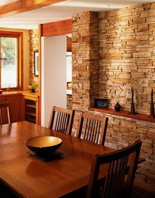 Paredes de piedra para interiores el rinc n de sonia - Muros decorativos para interiores ...