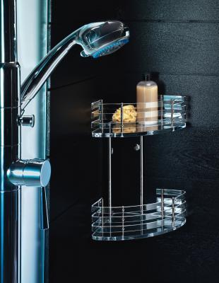 Consejos y detalles para tu ba o el rinc n de sonia - Estante para ducha ...