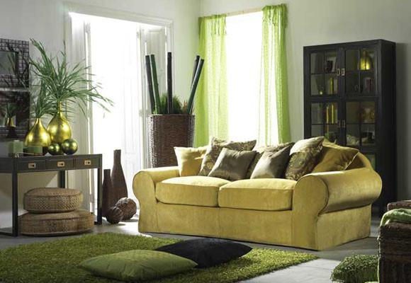 El color verde en la decoración   el rincón de sonia