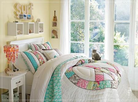 Dormitorios juveniles para ellas el rinc n de sonia Colores para habitaciones juveniles femeninas