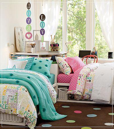 Dormitorios juveniles para ellas el rinc n de sonia - Pinturas para habitaciones juveniles ...