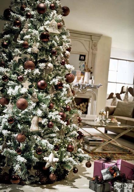 Como decorar el rbol de navidad el rinc n de sonia - Arbol de navidad morado ...
