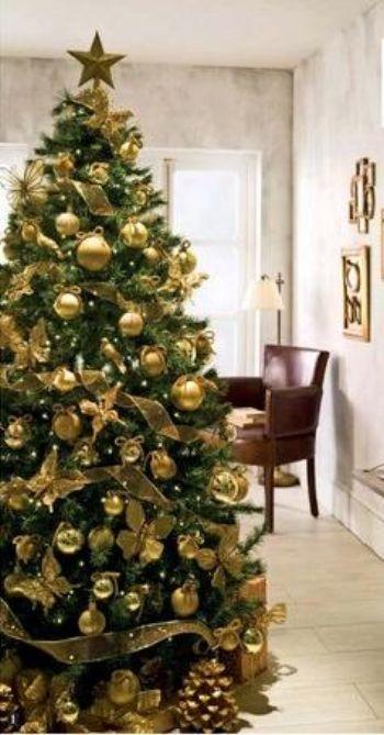 Como decorar el rbol de navidad el rinc n de sonia - Como decorar un arbol de navidad en rojo y dorado ...