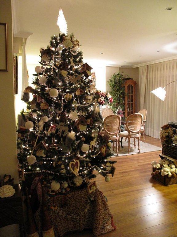 Como decorar el rbol de navidad el rinc n de sonia - Arbol de navidad dorado ...
