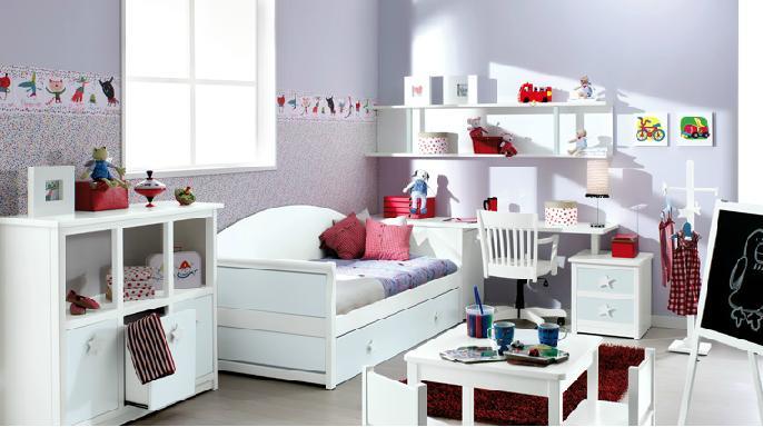 como decorar un dormitorio infantil