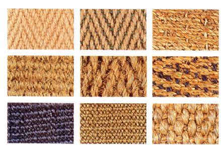 Alfombras de fibras naturales El Rincn de Sonia