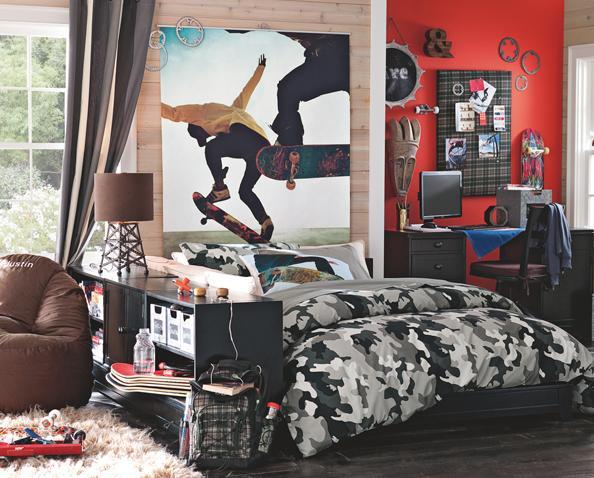 Dormitorios juveniles para ellos el rinc n de sonia - Cuadros habitaciones juveniles ...