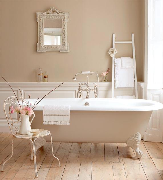 Decoración vintage en el baño - El Rincón de Sonia