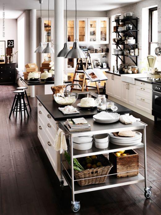 Cocinas de estilo industrial el rinc n de sonia for Cocina industrial hogar