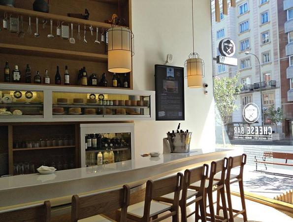 Cheese bar el universo del queso el rinc n de sonia for Barra bar moderna