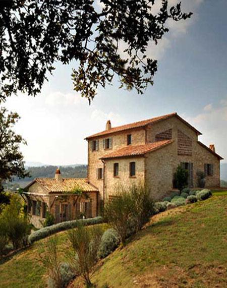 Una casa con sabor italiano el rinc n de sonia - Casas de estilo italiano ...