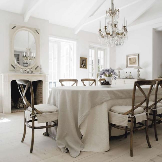 El color blanco en decoraci n el rinc n de sonia for Pintura blanco roto gris