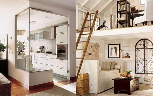 Aprovechar los espacios peque os el rinc n de sonia - Muebles funcionales para espacios reducidos ...