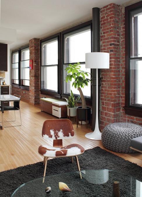 El ladrillo como elemento decorativo el rinc n de sonia - Ladrillos decorativos para interiores ...