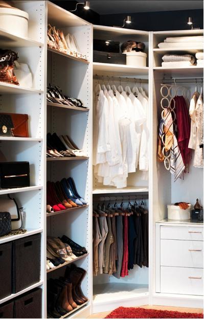 Ideas para distribuir un vestidor el rinc n de sonia - Baldas para armarios ...