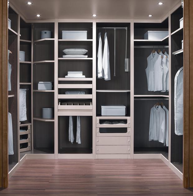Ideas para distribuir un vestidor el rinc n de sonia - Ideas para armarios empotrados pequenos ...