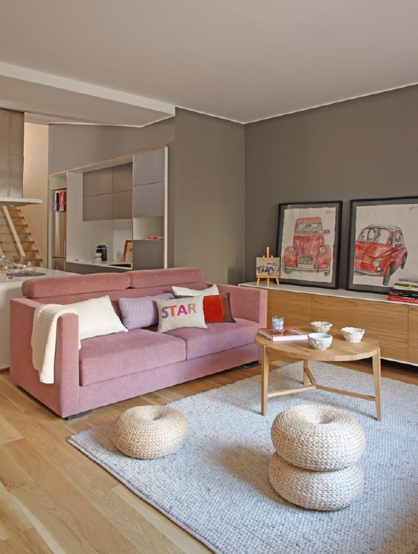 Una casa familiar de espacios abiertos y funcionales el Decoracion de espacios abiertos en casa