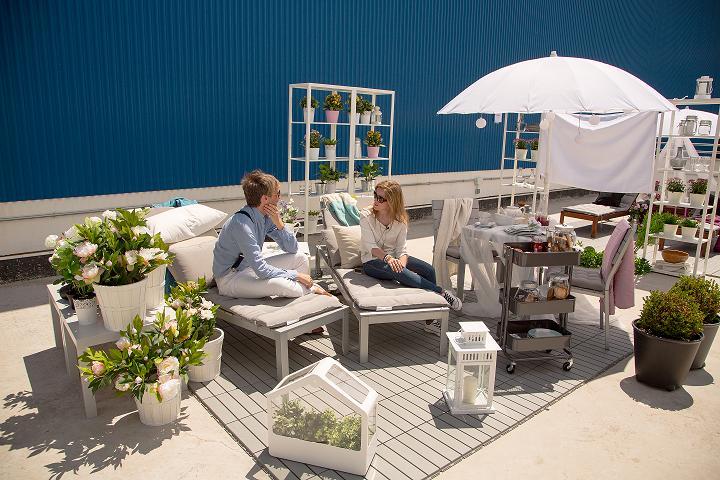 Ikea decoralaprimavera un amanecer para dos el rinc n de sonia - Ikea ideas jardin pau ...