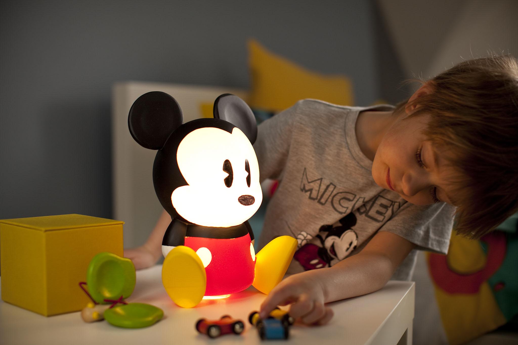 Luz de noche Mickey Mouse Lifestyle 2