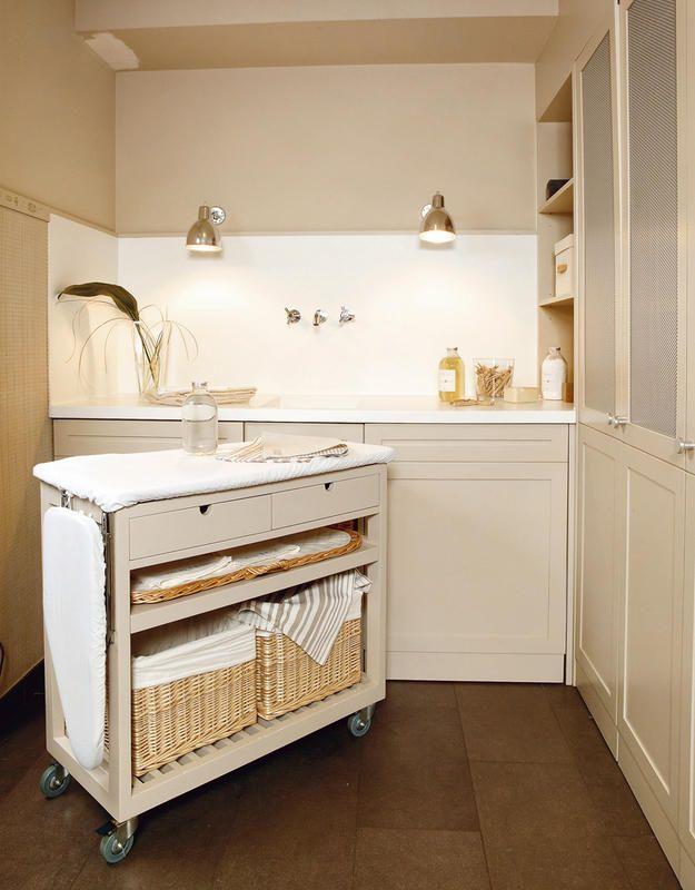 Ideas para crear una zona de lavado el rinc n de sonia for Mueble que se convierte en mesa