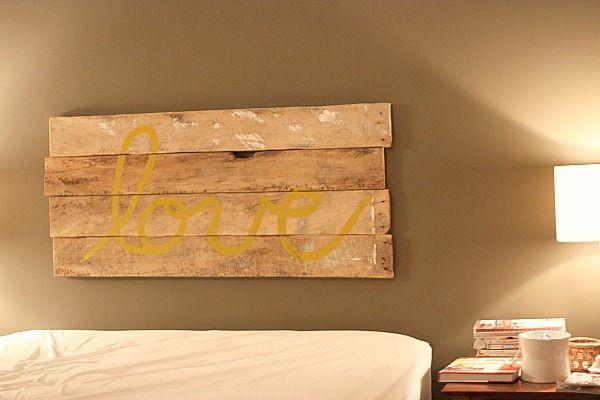 Cabecero con tablones de madera 23.50.59
