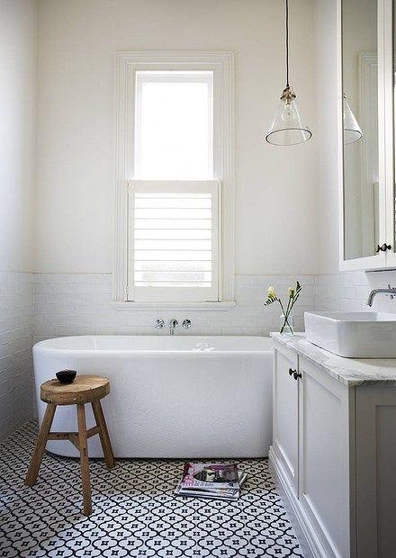 Baños Estilo Natural:Pinterest Bathroom Floor Tile