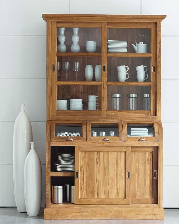 Alacenas para almacenar y decorar el rinc n de sonia - Alacenas de madera para cocina ...