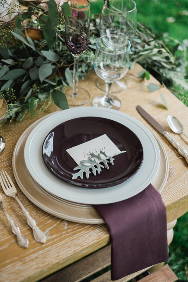 Ruffled - photo by Tara Bielecki Photography http://ruffledblog.com/fall-harvest-friendsgiving-wedding