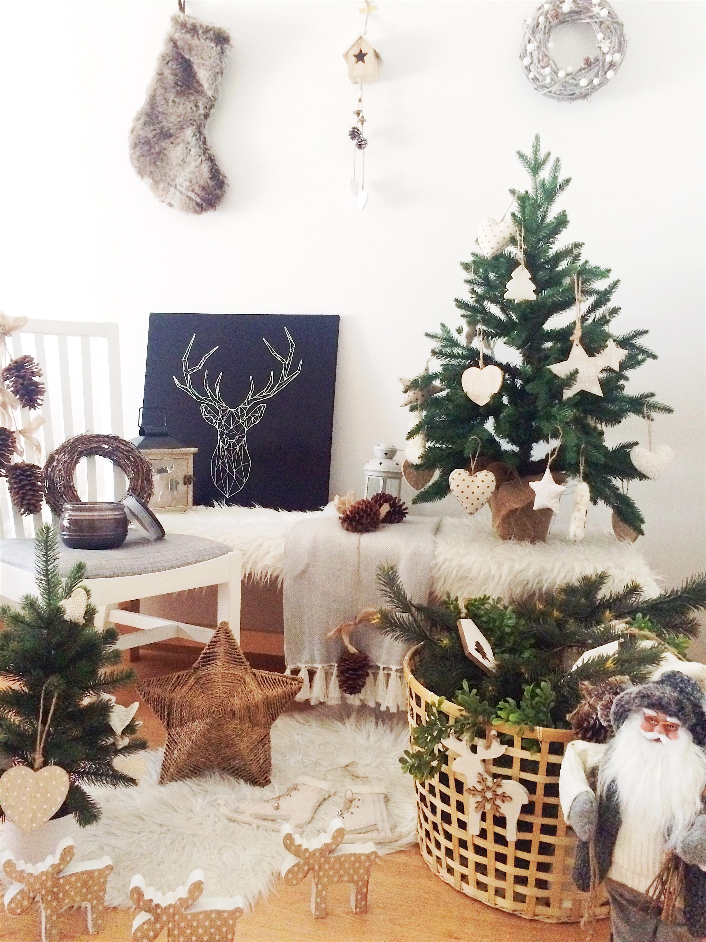 Navidad estilo escandinavo