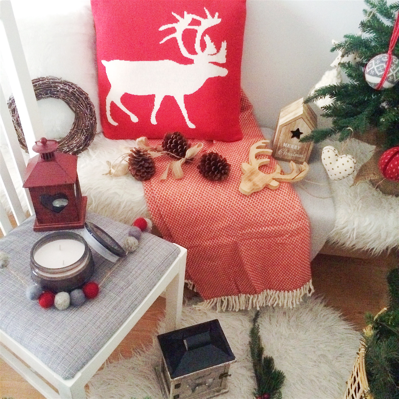 Navidad rojo tradicional