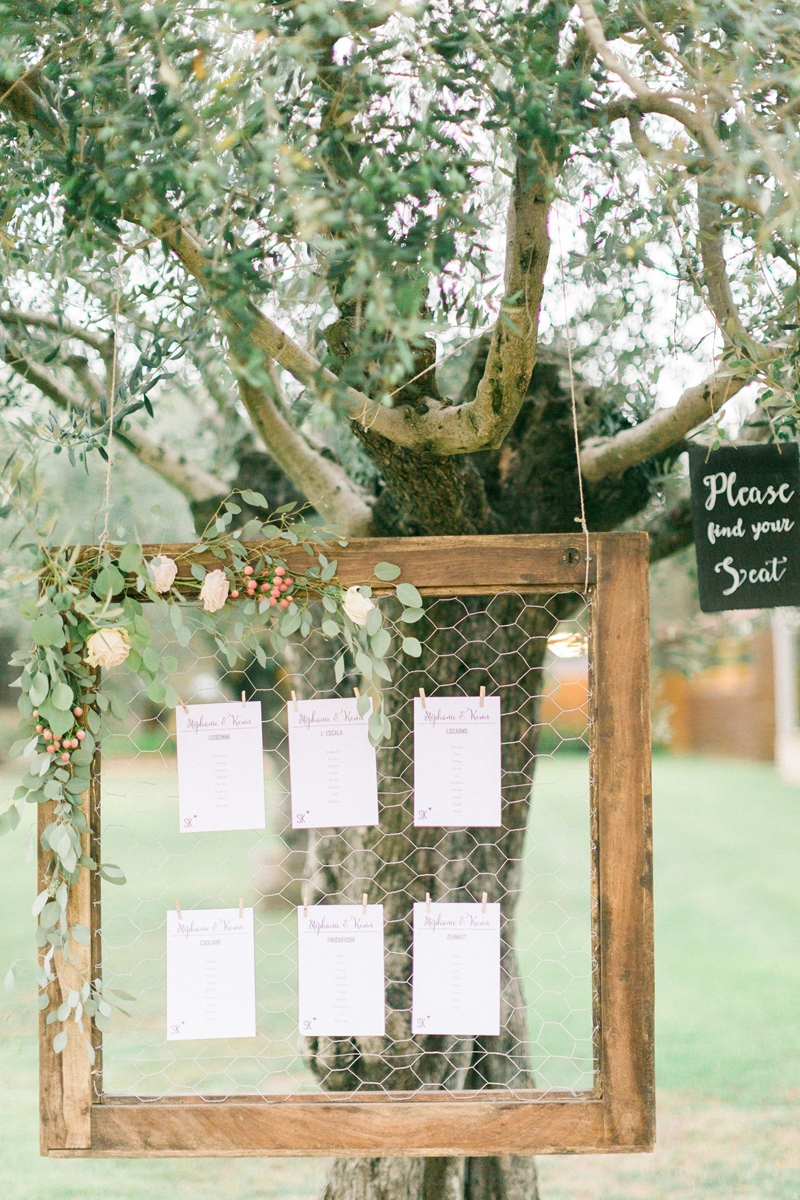 seating plan diy