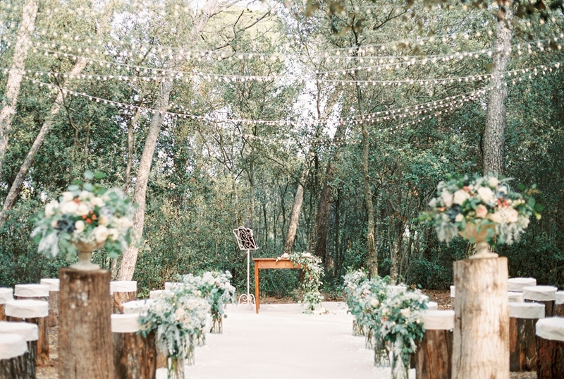 Spanish Destination Wedding in the Woods - photo by En Route Photography http://ruffledblog.com/spanish-destination-wedding-in-the-woods