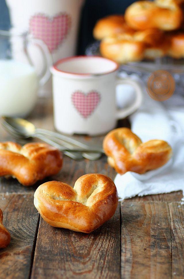 pan de leche corazón